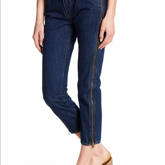 16494644 Levi's Jeans | Levis 505c Cropped Zipper Size 27 | Poshmark